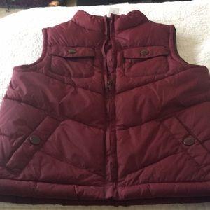 Boy's maroon vest